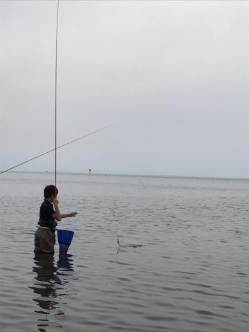 琵琶湖コアユ釣り
